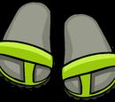 Les Sandales Citron Vert