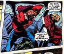 Matthew Murdock (Earth-616) faking his death in Daredevil Vol 1 54.jpg