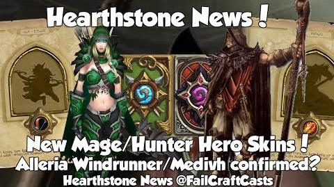 Alleria Windrunner + Medivh - New Hearthstone Hunter and Mage Heroes Confirmed?