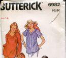 Butterick 6982 C