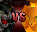 'Felidae vs Warrior Cats' themed Death Battles