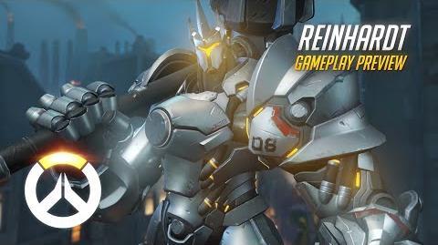 Overwatch Reinhardt Gameplay Preview 1080p HD, 60 FPS