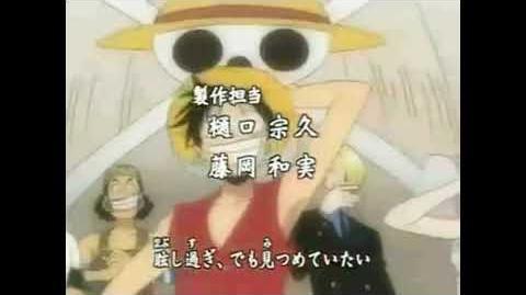 One Piece Op 2 - Believe (Japanese) HD