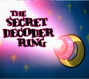 The Secret Decoder Ring