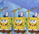 SpongeTrons X, Y, and Z