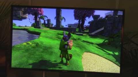 Meta dragon/Demo de Yooka-Laylee en la E3 2015
