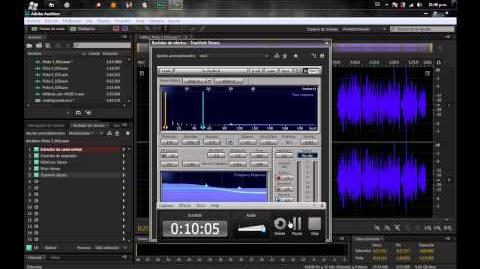 Tutorial Editar audio Adobe Audition CS6 Calidad aceptada en HHG