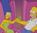 Homer e Marge desmentem boato de divórcio em vídeo