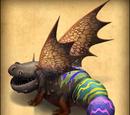 Farbenfroher Sturzflügler/Dragons-Aufstieg von Berk