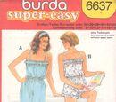 Burda 6637