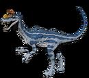 Kriolofozaur - skórka Glacial