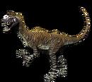 Kriolofozaur - skórka Striped