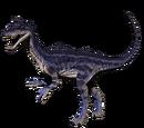 Kriolofozaur - skórka Lavender