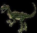 Kriolofozaur - skórka Long Grass