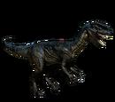 Dilofozaur - skórka Inked