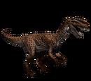 Dilofozaur - skórka Cheetah