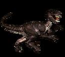 Novaraptor - skórka Earthen Savage