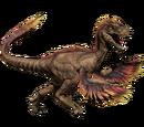 Novaraptor - klasyczna skórka
