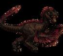 Novaraptor - skórka Brimstone