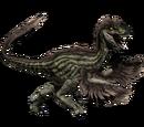 Novaraptor - skórka Ivy Striped