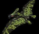 Pteranodon - skórka Green Twin-Spire
