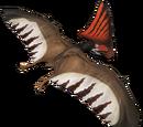 Tupandaktyl - skórka Crimson