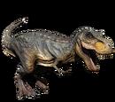 Tyranozaur - skórka Green