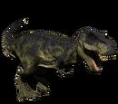 Tyranozaur - skórka Greenhide