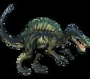 Spinozaur - skórka Evergreen
