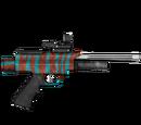 Pistolet usypiający - skórka Teal Red Zebra