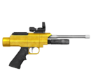 Pistolet usypiający - skórka Golden
