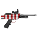 Pistolet usypiający - skórka Candy Cane