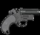 Pistolet sygnałowy - skórka Jet Black