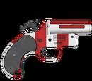Pistolet sygnałowy - skórka Candy Cane
