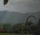 Dilophosaurusgehege/Filmkanon