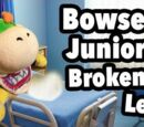 Bowser Junior's Broken Leg!