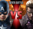 Captain America vs. Albert Wesker