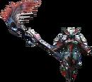 Rage Armor (Blademaster) (MH4U)