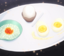 Three Forms of Egg Dishes