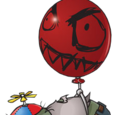 Ballon-Zombie