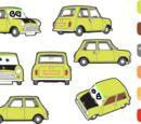 Vanrussel.tadena/Disney Pixar Cars Mr Bean