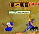 Samurai Shodown (game) stages