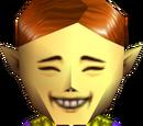 Vendedor de La Máscara Feliz