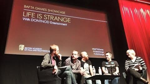 CuBaN VeRcEttI/Vídeo de la presentación de Life is Strange en la sede de la BAFTA