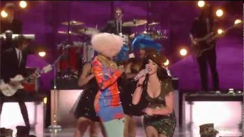Katy Perry & Nicki Minaj - Girls Just Want To Have Fun @ VH1 Divas Salute The Troops