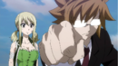 Lucy and Loke fight against Tartaros.png