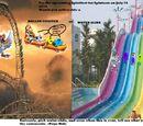 Comic 64:Splatfest:Roller Coasters VS Water Slides