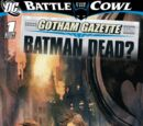 GOTHAM GAZETTE: BATMAN DEAD?