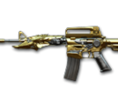M4A1-S Transformers Noble Gold