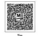 Tomodachi Life QR Codes for TARS Characters